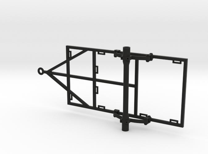1/10 Scale 4x8 Trailer Frame w/ Leaf Spring Suspen (EJVKE4D2F) by ...