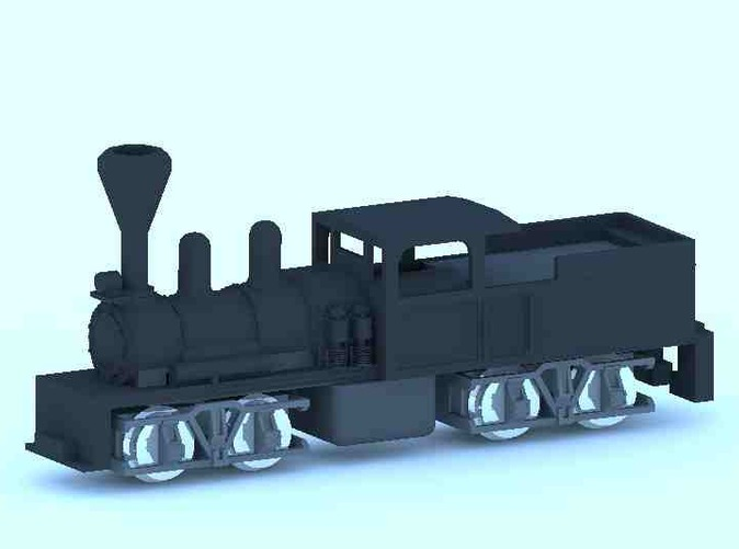 Shay Steam mounted on dummy core