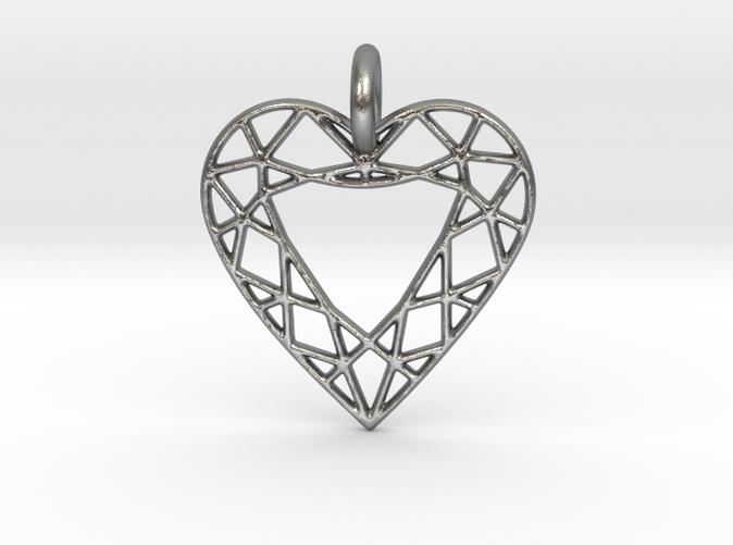 Heart Diamond Pendant is spectacular