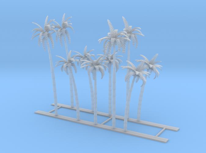 10 Palm Trees Z scale