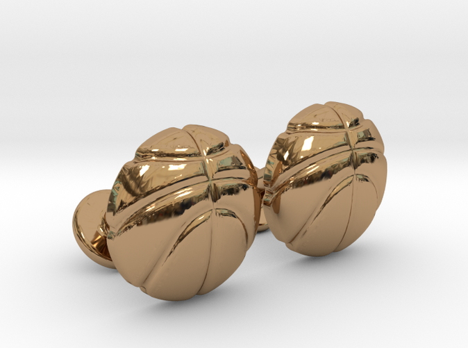 Basketball Ball CuffLinks