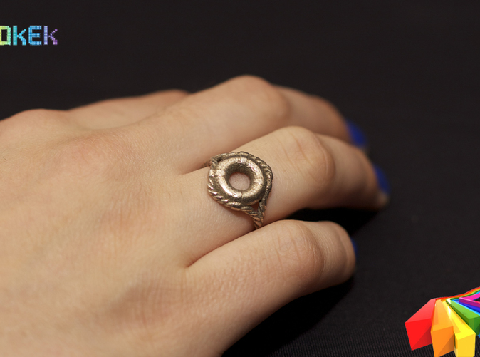 Photo with ring in Stainless Steel