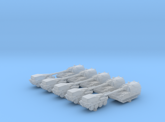 1/700 Scale Modern Italian Army Tank Set 1