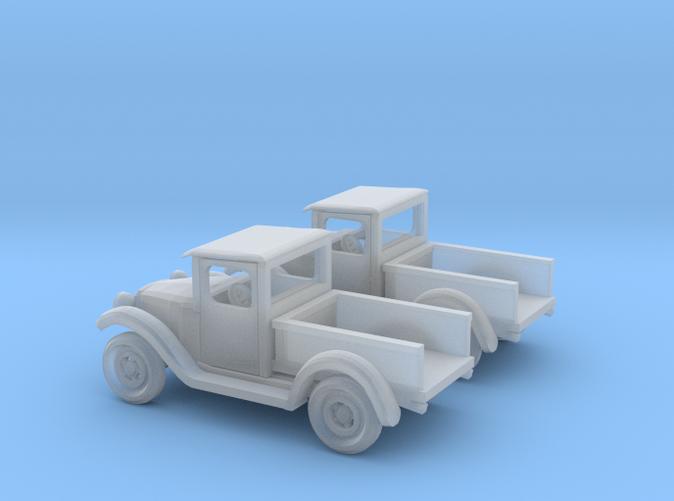2 1934 Pickup trucks Z scale