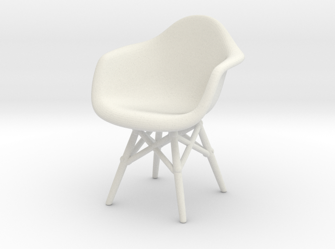 1:12 Eames Molded Chair DAW - Charles and Ray Eames
