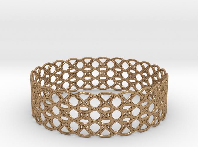 Tennis Seam Curve Bracelet