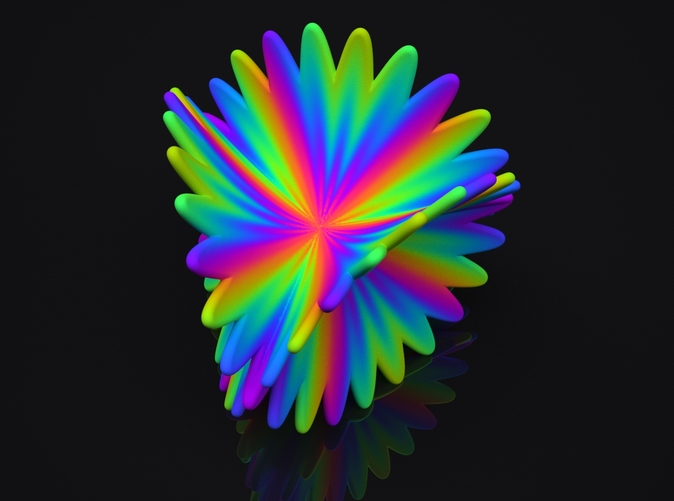 Spectral Flower Preview