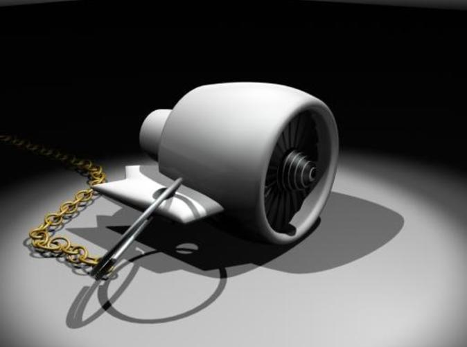 Render of the object in 3dsmax.