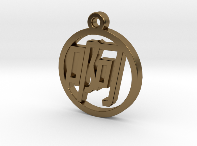 Chinese Font Charm - A