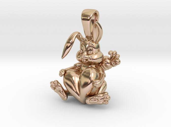 Bunny pendant design