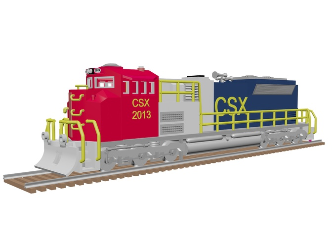 EMD SD70 ACE in US colors