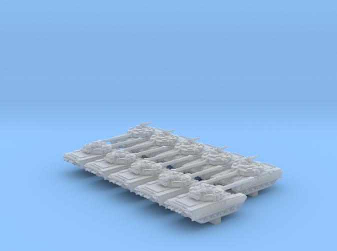 1/600 Russian Object 187 Main Battle Tank x10
