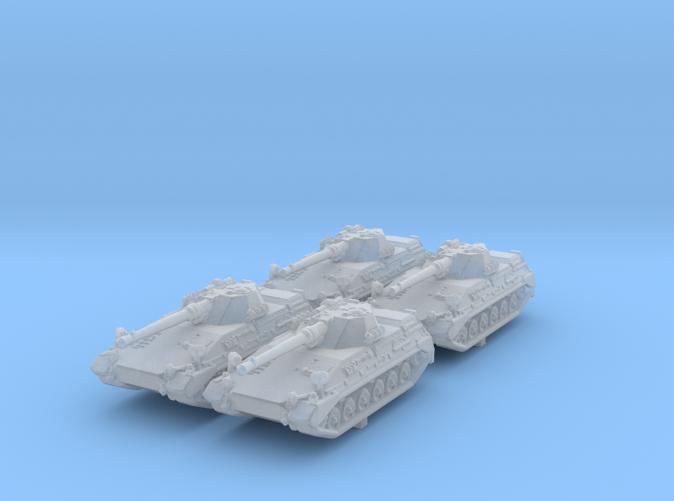 1/285 (6mm) German Begleitpanzer 57 Light Tank x4