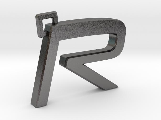 Volvo R keychain (metal)