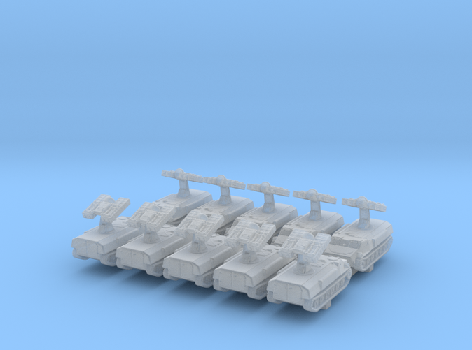 1/600 Russian 9K35 Strela-10 (SA-13 Gopher) SAM x10