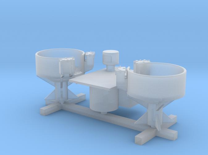 1/350 HMS Walker Vent and Twin Pom Pom Platform
