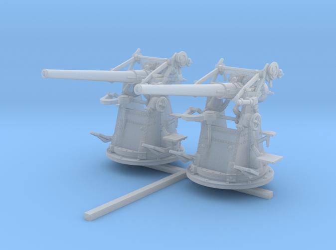"""1/96 12-pdr 3""""/45 (76.2 cm) 20cwt Guns x2"""