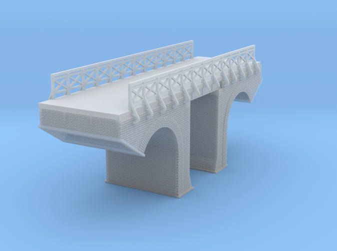 Polish Arched Bridge Z scale