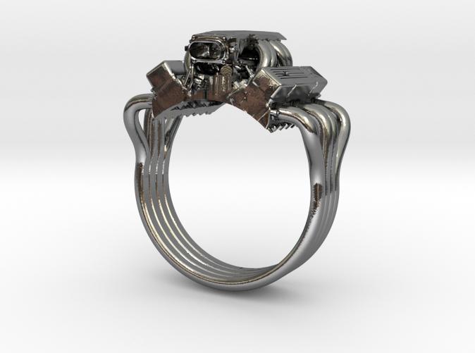 Chevy Corvette V8 Engine Ring  4z5yzqj2c  By Vrgervasi