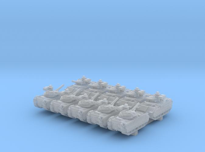 1/700 US M2A3 Bradley APC 20º Barrel x10