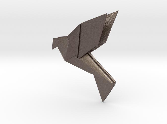 small origami bird