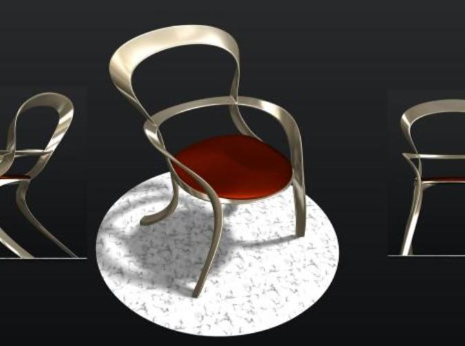 Oval Chair Concept