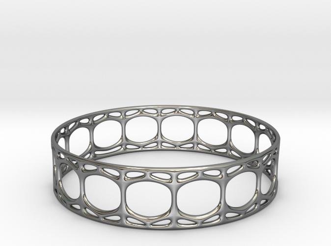 Voronoi Cylindrical Bracelet