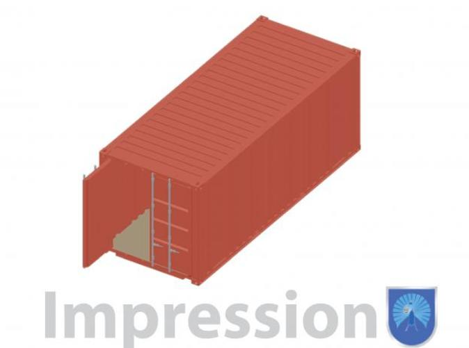 Impression of a shippingcontainer
