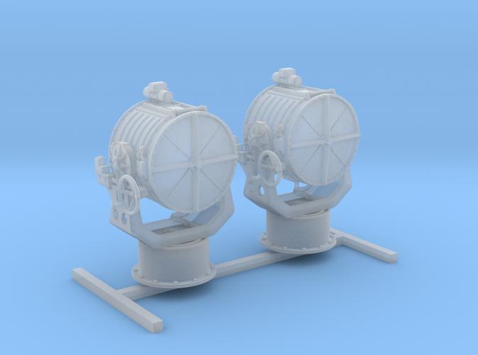 "1/96 Royal Navy 44"" Searchlight x2"