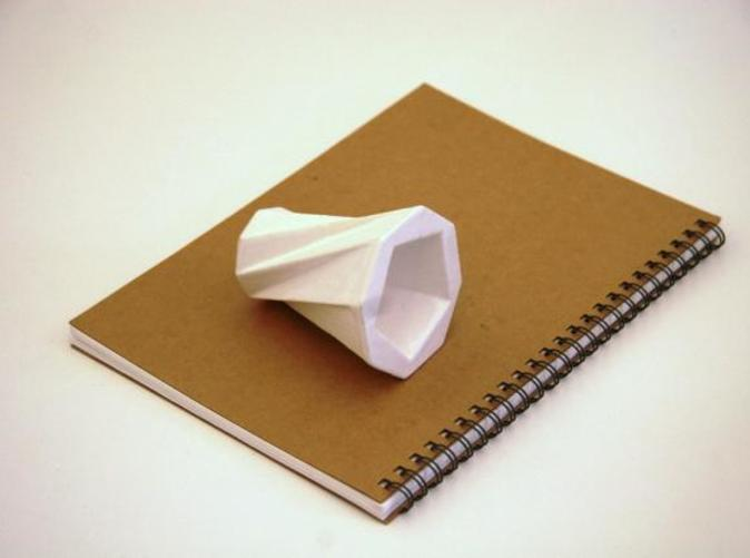 Cup on Notebook