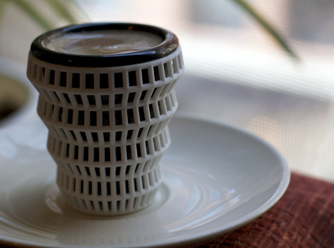 Wireframe Espresso Cup