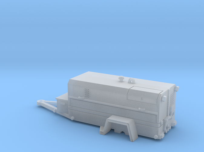 WDR505 Cable Puller On Trailer 1-87 HO Scale (BSJ7YZ64Q) by ...