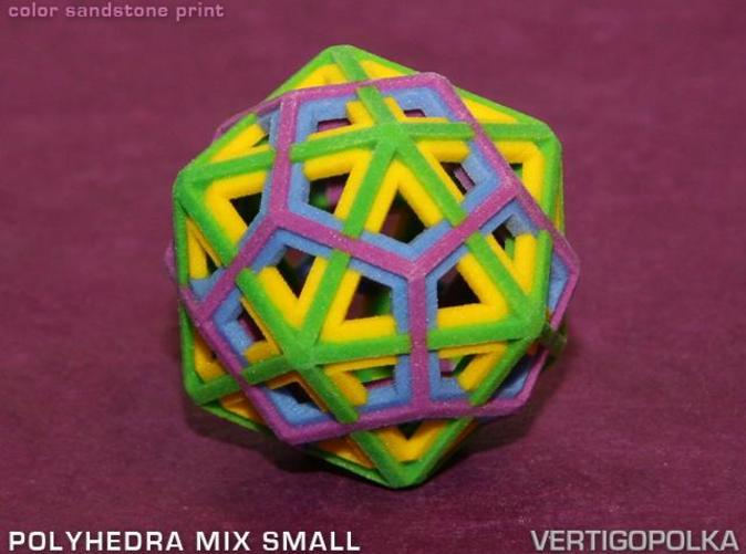 color sandstone print