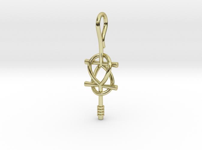 Render - Double Ankh Pendant