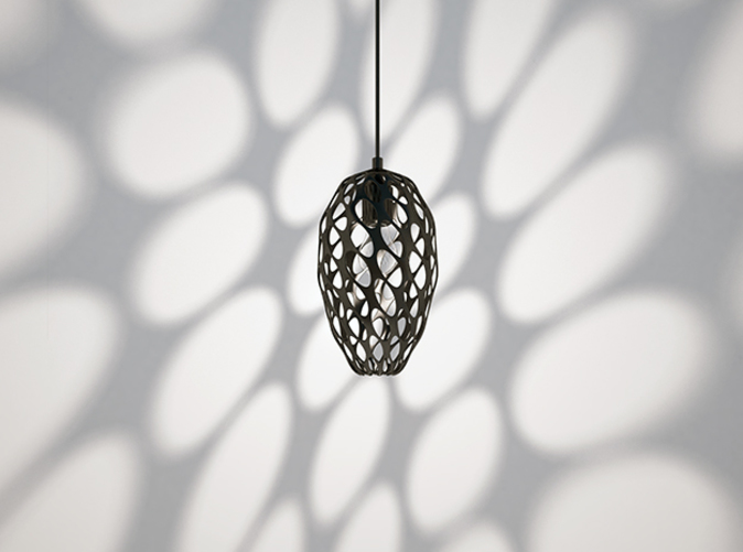 Hedron Pendant: As shown in black