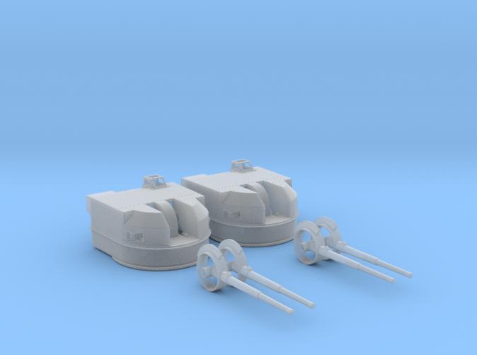 "1/72 Battle Class 4.5""/45 QF MKIV RP10 Gun x2"