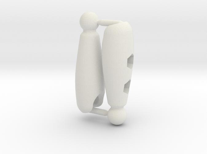 Shaped Thigh Set for ModiBot