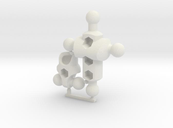 Moli (female) Basic Modifier Kit for ModiBot Mo