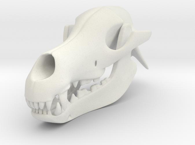 3D Printed Dog Skull