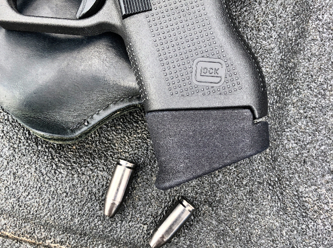Glock 43 +1 Pinky Extension