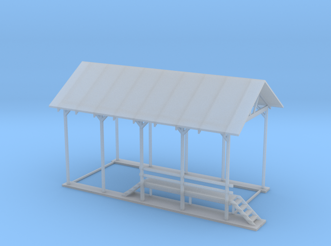 Repair Shelter N scale