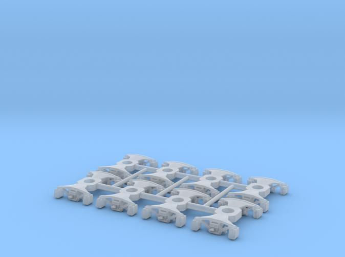 N Scale 2D-F12 Coil-Elliptical 4PK
