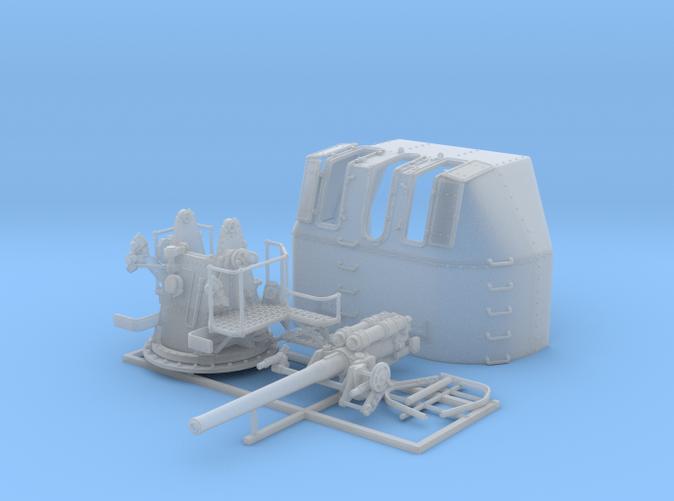 "1/72 RN 4"" MKV P Class Gun (B Mount) x1"