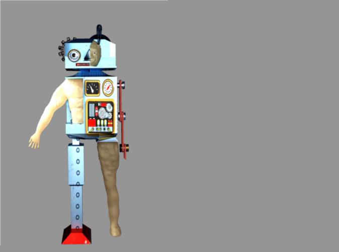 a render of the robot