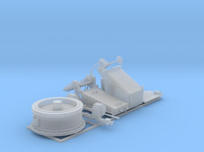 1/48 Twin 20mm Oerlikon Powered MKV Mount 25º