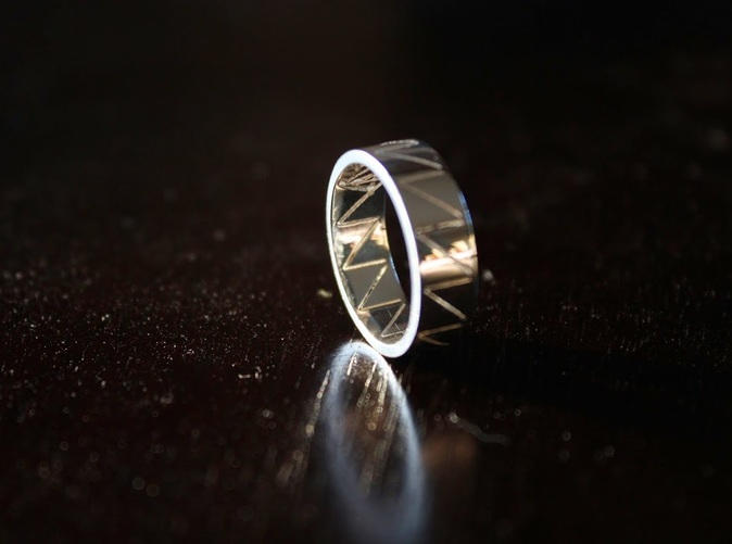 Visionary Ring In Premium Silver