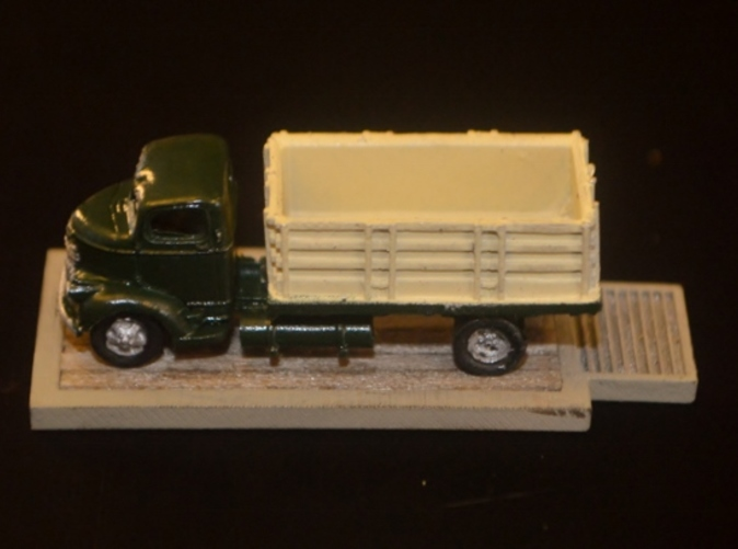 Painted & Detailed Production Sample w/ GHQ Grain Truck (NOT Included)