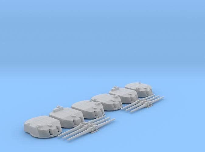 """1/200 SMS Nassau 28cm/45 (11"""") SK L/45 Guns x6"""