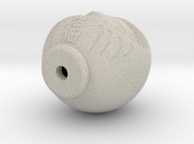 Daruma Doll - Sandstone