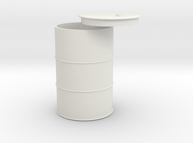 1/18 55 gallon drum